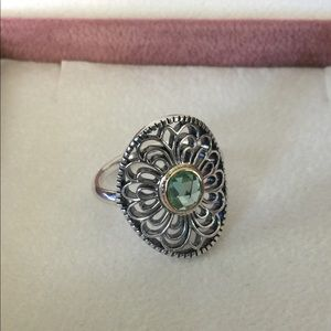 b236df491 Pandora Jewelry | Retired Vintage Allure Ring 190885ssg | Poshmark